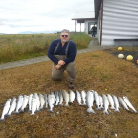 August 24th – 550 salmon landed.